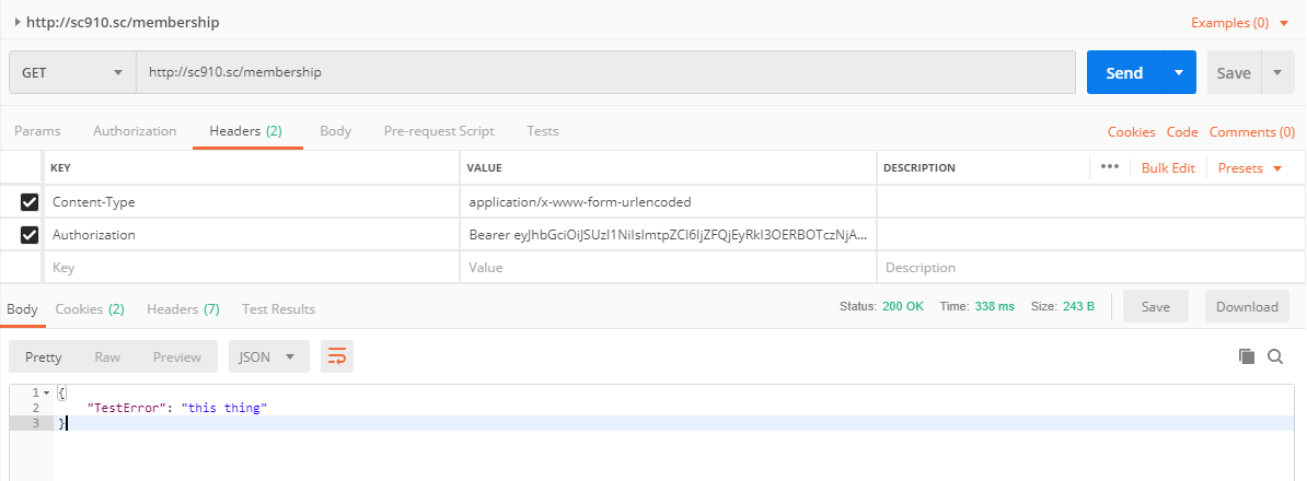 Using Identity Server and Bearer Tokens to Authenticate Sitecore